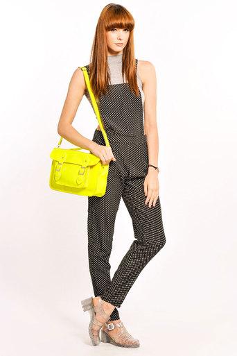 Etenia Polka Dot Jumpsuit - Pop Couture