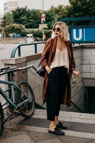 cardigan brown knee length cardigan silk satin chocolate brown jacket overcoat