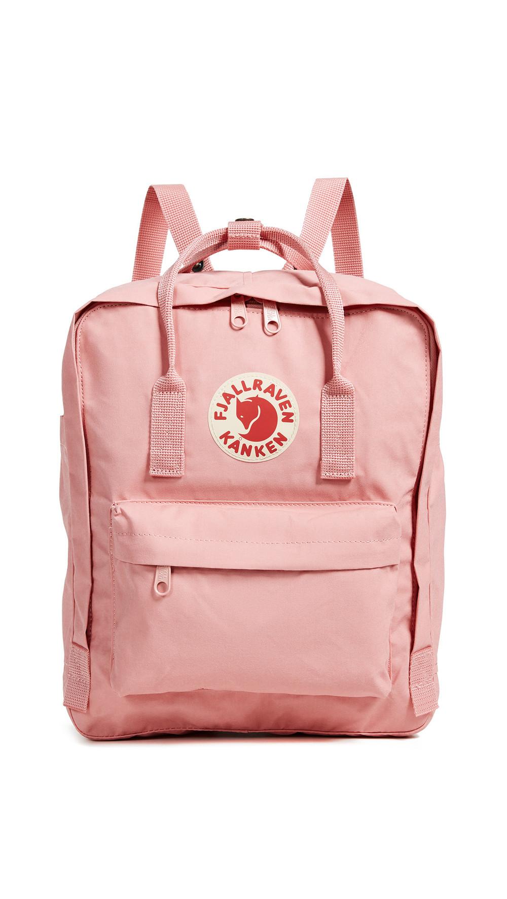Fjallraven Kanken Backpack in pink