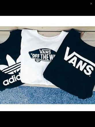t-shirt adidas vans