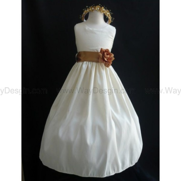 flower girl dress white dress dress
