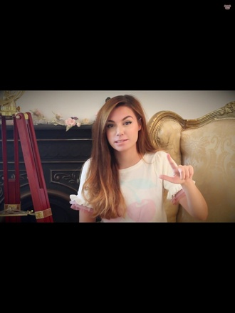 blouse lolita liz lisa marziacutiepie marzia cutiepiemarzia sweet girly lovely cheerys japan asia youtube celeb vintage grunge