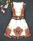 #365 printed puffy dress