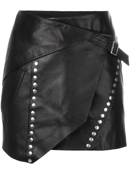 Iro skirt mini skirt mini studded women black