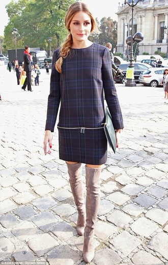 dress tartan olivia palermo