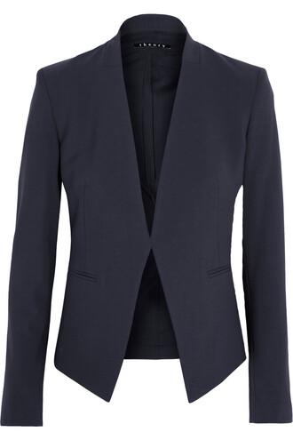 blazer wool navy jacket