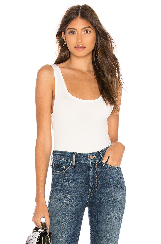 OW Intimates Hanna Bodysuit in white