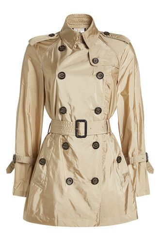coat trench coat short beige