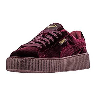 86177db703122 Amazon.com | PUMA Select Men's Puma Creepers Velvet X FENTY by Rihanna |  Fashion Sneakers
