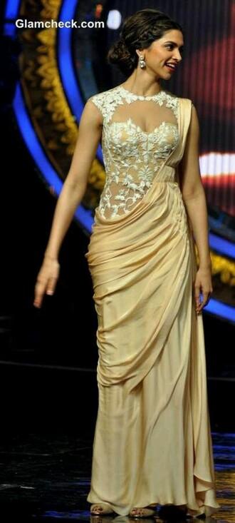 dress peach dress gown dress