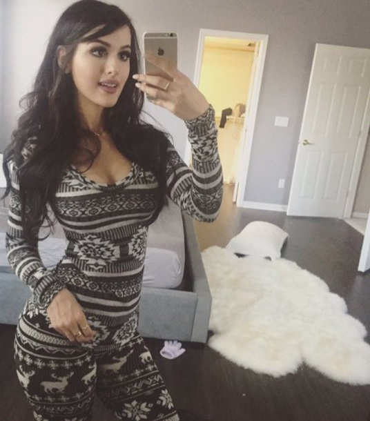 jumpsuit sssniperwolf christmas pajamas