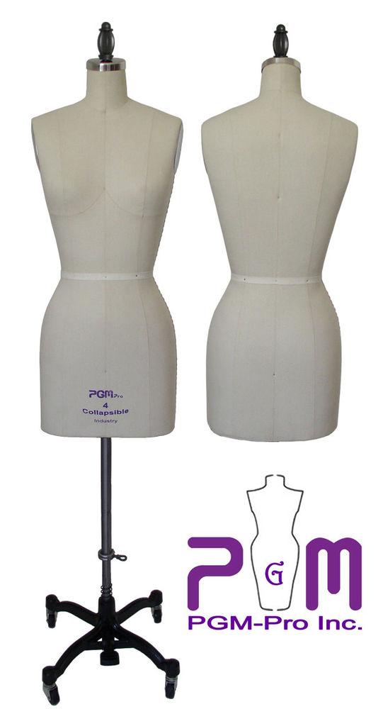Professional dress form sewing mannequin size 8 slight damage