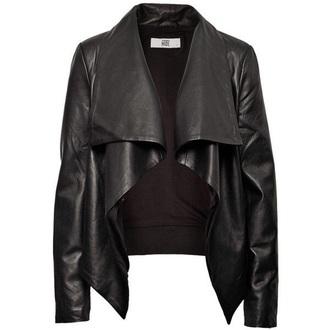 jacket black black leather jacket leather leather jacket black leather badass