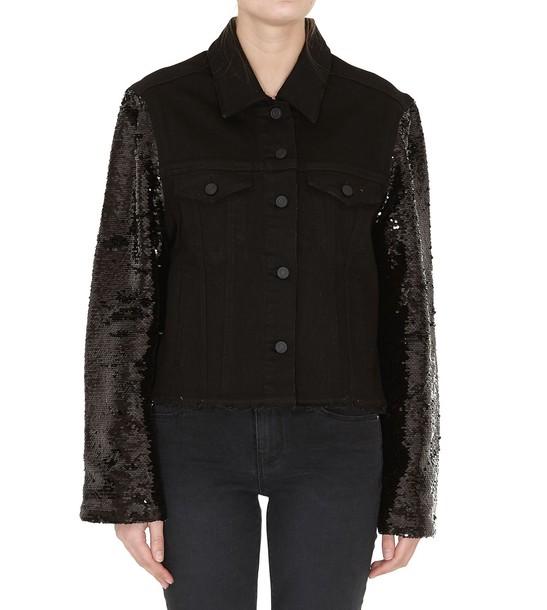 rta jacket denim jacket denim black