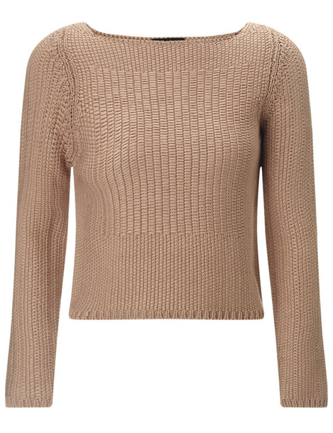 Rag & Bone jumper tan cotton