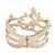 Rose Gold Coral Cuff - ChicPeek.com