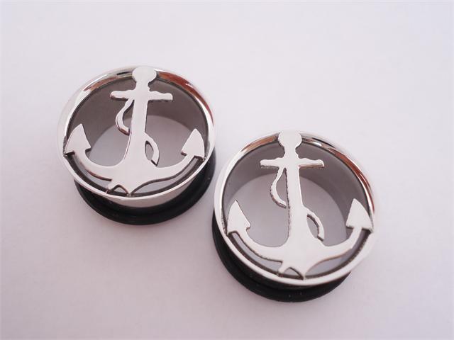 Steel anchor plugs (2 gauge