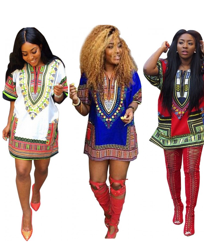 OM Dashiki Tee Dress – Outfit Made