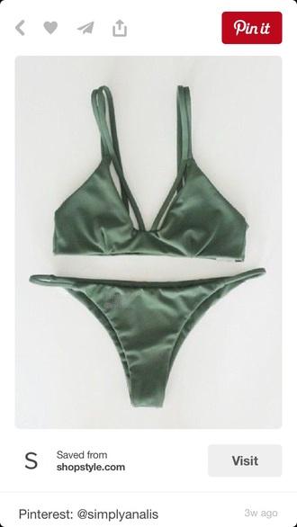 swimwear khaki hipster