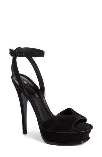 Saint Laurent Tribute Platform Sandal (Women) | Nordstrom