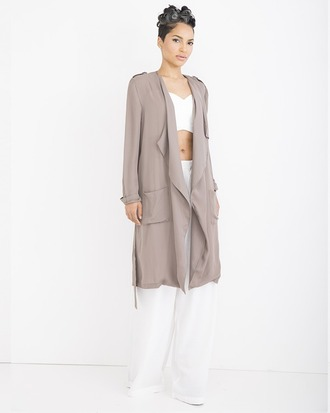 coat trench coat lighweight lightweight trench coat taupe taupe trench coat
