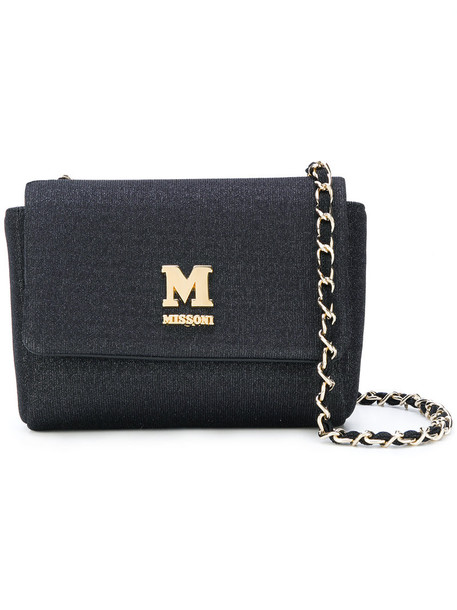 M Missoni women bag shoulder bag cotton black
