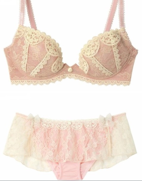 underwear pink lace