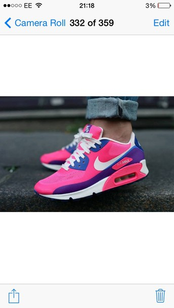 Nike Air Max 90 Pink And Purple