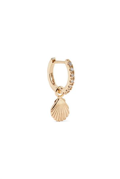 SARAH & SEBASTIAN shell gold jewels