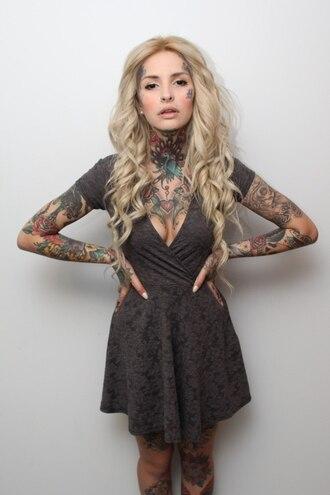 dress grey lace dress lace cap sleeve cap sleeve dress