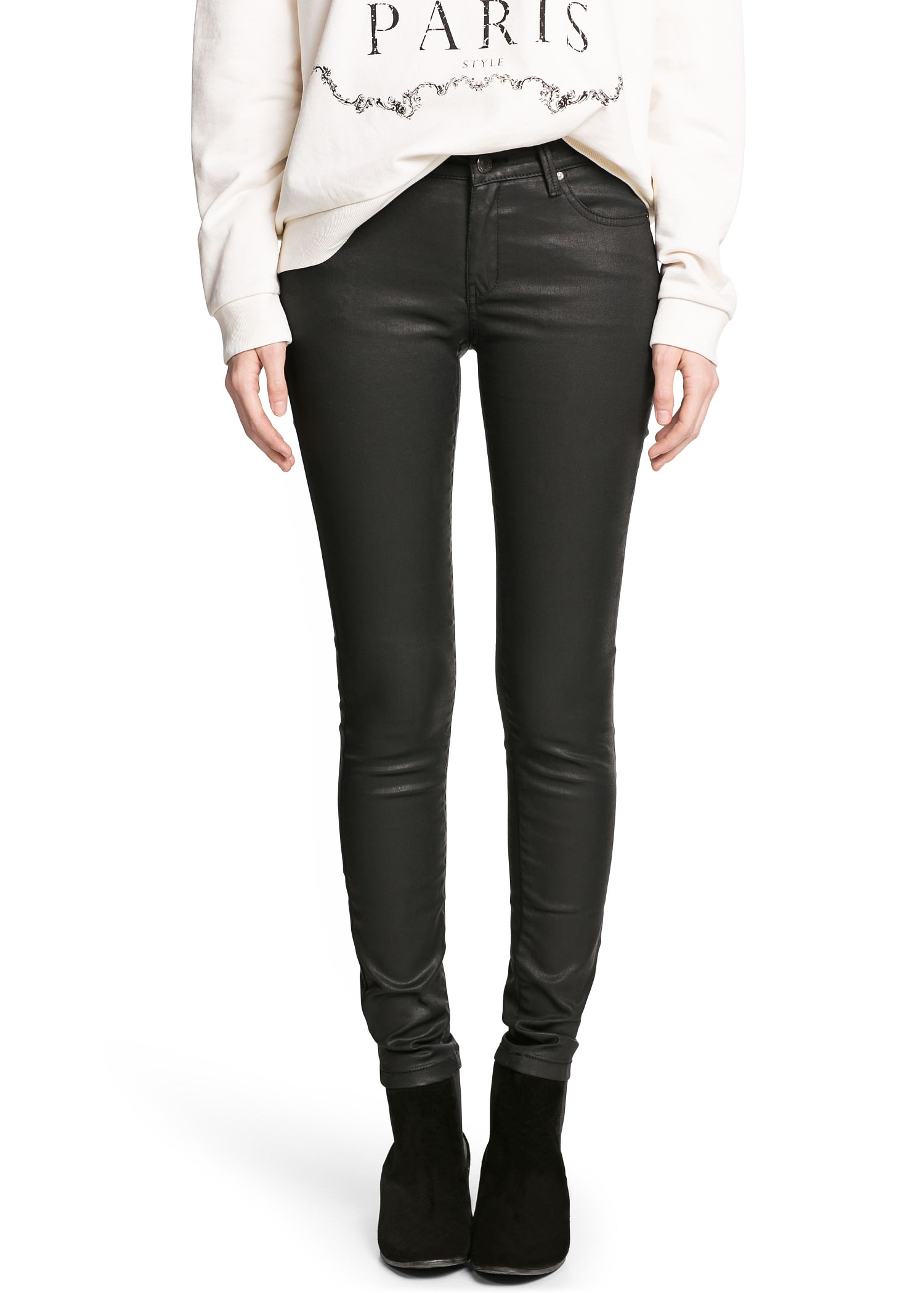 Super slim-fit belle jeans - Women | MANGO