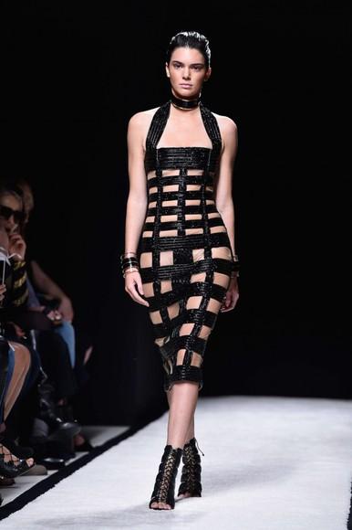 kendall jenner dress fashion week 2014