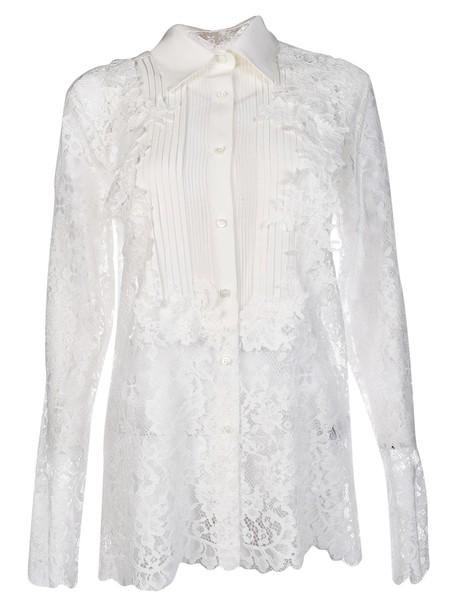 shirt lace shirt lace top