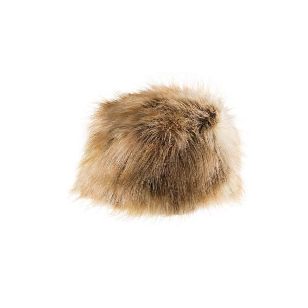 Fur beanie