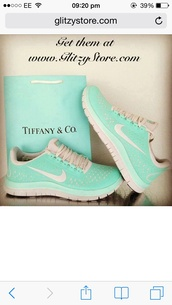 shoes,nike running shoes,yourderry.com,www.yourderry.com,tiffany blue nikes,tiffany blue nike free runs
