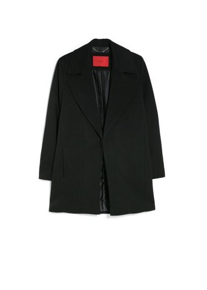 wide lapel coat