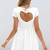 SABO SKIRT  Heart Back Dress - Off White - 48.0000