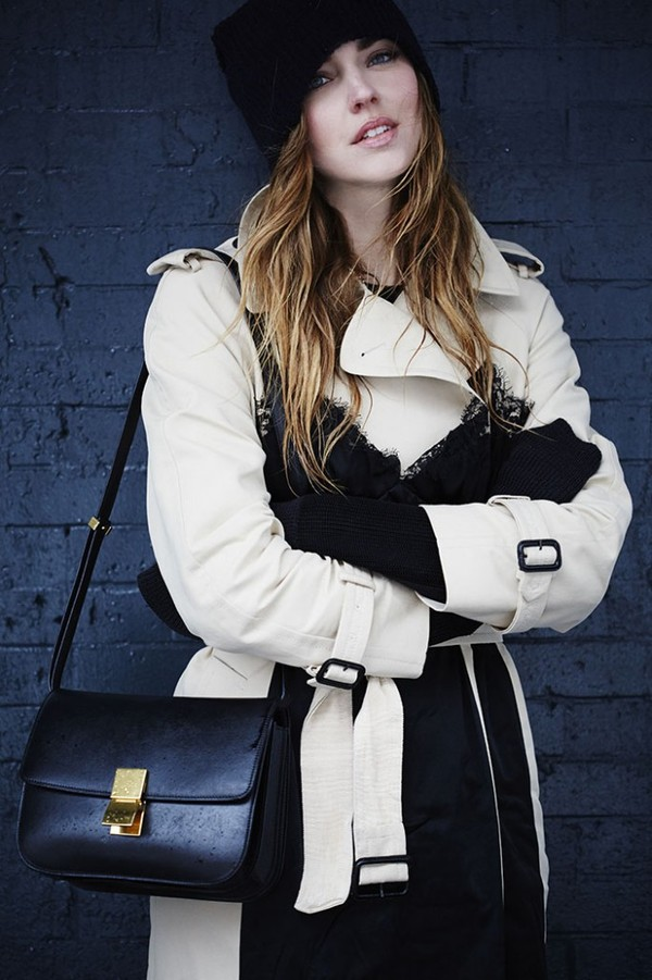 the blonde salad shoes coat bag