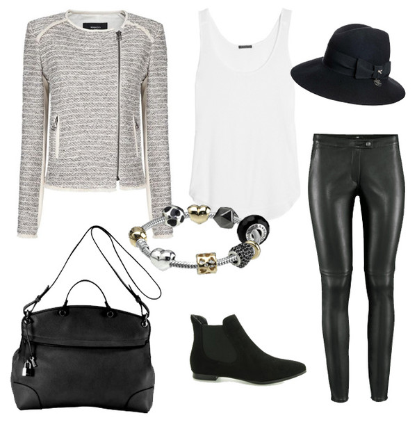 fashion mugging hat jacket jewels tank top bag shoes