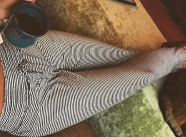 pants stripes pajamas