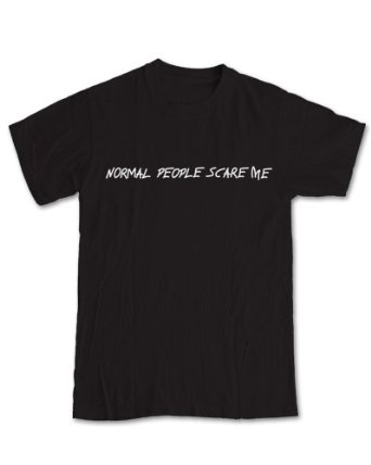 Normal People Scare Me 'American Horror Story' T-Shirt: Amazon.co.uk: Clothing