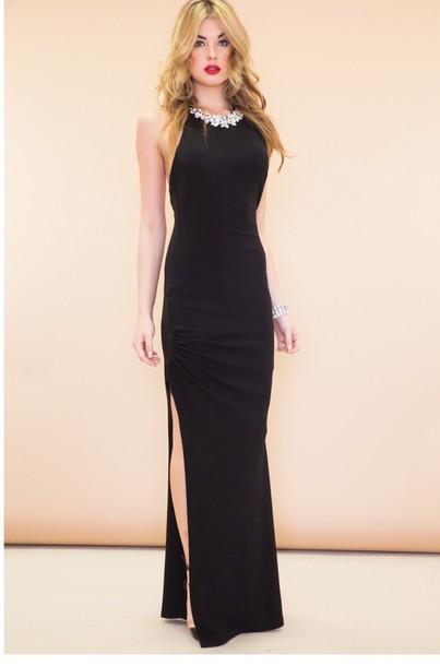 celebrity style long dress