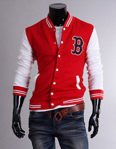 baseball jacket jacket red varsity jackets varsity jackets for men