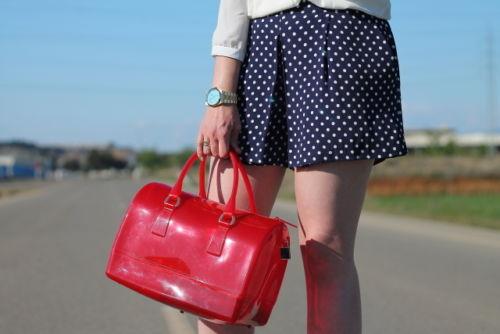 polka dot shorts   FASHION and CLOTHING (US)