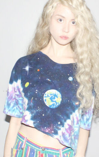 shirt pants t-shirt space galaxy print galaxy skirt