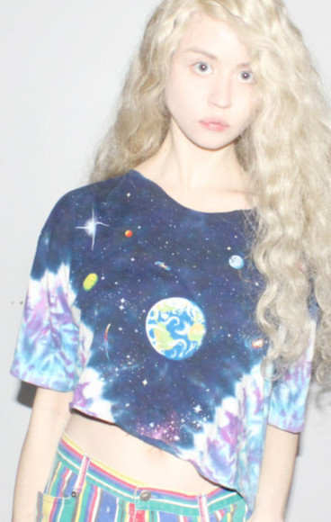 galaxy galaxy skirt t-shirt shirt space pants