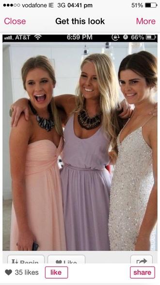 dress lavender dress prom dress long prom dress purple dress debs dress long dress