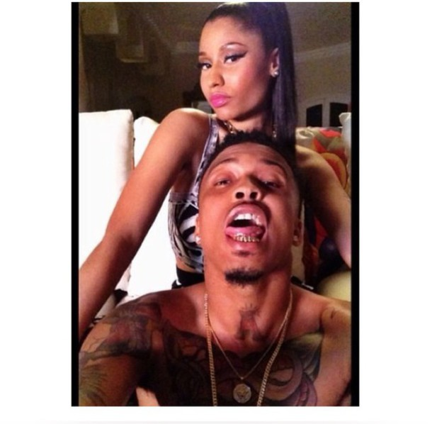 nicki minaj august alsina jewels