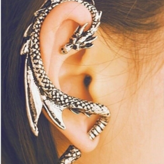 jewels dragon ear cuff