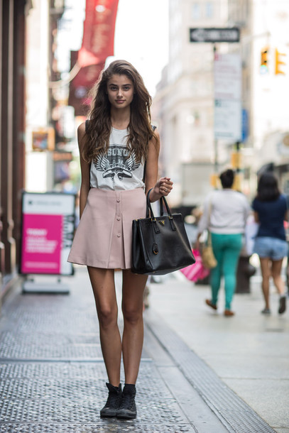 skirt cute streetstyle girly tank top